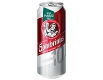 Gambrinus Original 10 pivo 24x500ml plech