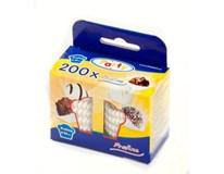 Cukrářské košíčky bílé 25x18mm 200ks