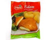 Eidam obalovaný předsmažený sýr mraž. 20x100g