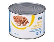 ARO Tuňák kousky v rostlinném oleji 1x1,705kg