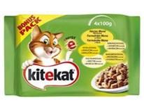 Kitekat Drůbeží menu kapsička pro kočky 4x100g