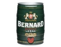 Bernard světlý ležák pivo 1x5L plech