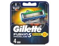 Gillette Fusion Proglide Power náhradní hlavice 1x4ks