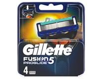 Gillette Fusion Proglide Manual náhradní hlavice 1x4ks