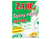 Bonavita Zajíc Sójový nápoj Natural 3x400g