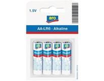 Baterie ARO LR6 AA 1,5V 4ks