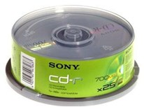 CD-R Sony /70/48/50/CB 1ks