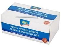 ARO Párátka dřevěná hygienicky balená 1x1000ks