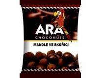 Ara Mandle v mléčné čokoládě a skořici 12x80g