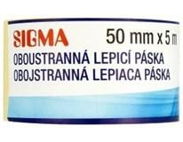 Páska oboustranná lepící Sigma 50mm x 5m 1ks