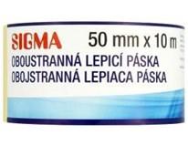 Páska oboustranná lepící Sigma 50mm x 10m 1ks