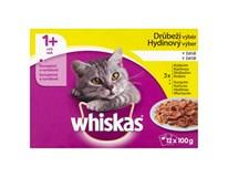 Whiskas Drůbeží výběr kapsa pro kočky 12x100g
