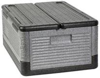 Flip-box úložný Horeca Select 9920 šedočerný 40L 1ks