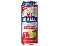 Birell limetka+malina nealko pivo 24x500ml plech