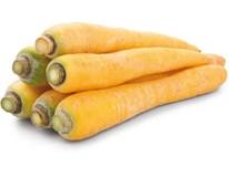 Mrkev karotka žlutá 100/300 čerstvá 1x1kg fólie