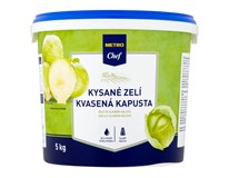 Metro Chef Zelí kysané bílé 85% 1x5kg kbelík