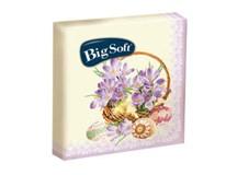 Big Soft ubrousky velikonoční mix 2-vrstvé 1x20ks