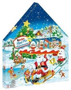 adventni kalendar kinder Kinder Adventní kalendář 1x351g   Vánoce, Sezónní cukrovinky  adventni kalendar kinder