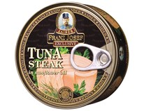 Franz Josef Tuňák steak v oleji 6x170g
