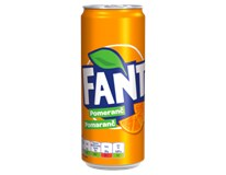 Fanta Orange 24x330ml plech