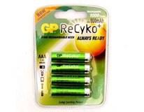 Baterie GP ReCyko+ PRO HR03 AAA 4ks