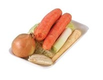 Směs zeleniny polévková chlaz. 1x400g tácek