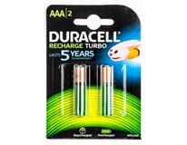 Baterie nabíjecí Duracell 800 AAA 2ks