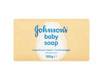 Johnson´s Baby Soap dětské mýdlo s výtažkem z mléka 1x100g