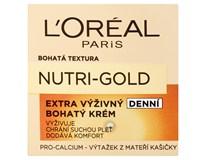 L'Oréal Nutri-gold Extra výživný denní krém 1x50ml