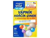 Maxi Vita Vápník+hořčík+zinek+D3+K1 1x30 tablet