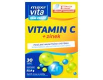 Maxi Vita Vitamin C+zinek 1x30 tablet