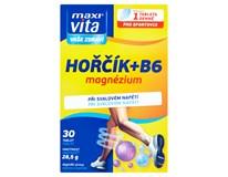 Maxi Vita Hořčík+vitamin B6 1x30 tablet
