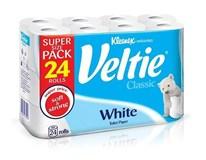Kleenex Veltie Toaletní papír 2-vrstvý bílý 1x24ks