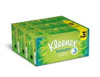Kleenex Balsam kapesníky 3-vrstvé 3x80ks box