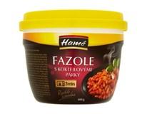 Hamé Fazole s koktejlovými párky hotové jídlo 1x400g