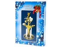 Andělské zvonění se 4 svíčkami 1ks