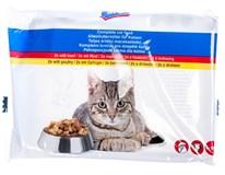 ARO Hovězí+drůbeží kapsa, pro kočky 4x100g