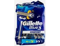 Gillette Blue3 holítka pohotovostní 1x(9+3)ks
