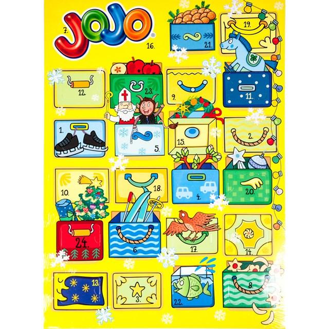 Jojo Adventní kalendář 1x156g - Vánoce a5a24c9f72