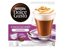 Nescafé Dolce Gusto Chococino caramel 1x(8x14,9g+8x10,7g) kapsle