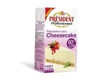 President Professionnel Cheesecake chlaz. 1x1L UHT