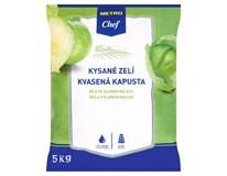 Metro Chef Zelí kysané bílé SK 75% chlaz. 1x5kg fólie
