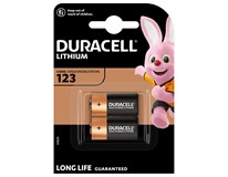 Baterie Duracell Ultra DL 123 2ks