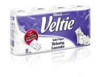 Kleenex Veltie Toaletní papír levandule 3-vrstvý 1x8ks
