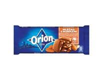 Orion Čokoláda mléčná s mandlemi 8x90g