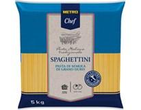 Metro Chef Spaghettini těstoviny 1x5kg