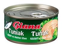 Giana Tuňák kousky ve vlastní šťávě 12x185g