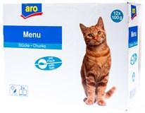 ARO Kapsa rybí pro kočky 12x100g