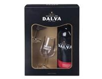 Dalva Porto ruby 4x(1x750ml + sklenice 2ks) dárk. balení