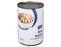 ARO Fazole bílé ve slaném nálevu 6x400g
